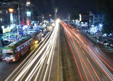Yangon Night Light
